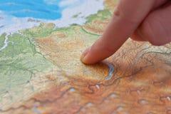 Cartão do mundo Imagem de Stock Royalty Free