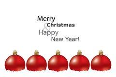Cartão do Natal Imagens de Stock Royalty Free