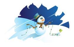 Cartão do Natal Imagem de Stock Royalty Free