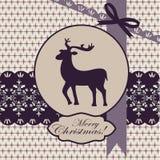 Cartão do Natal ilustração royalty free
