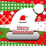 Cartão do Natal. Fotos de Stock