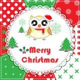 Cartão do Natal Foto de Stock