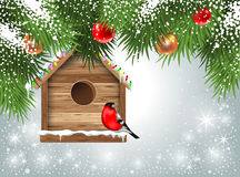 Cartão do Natal Fotografia de Stock