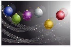 Cartão do Natal Fotos de Stock