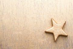 Cartão do Natal com as decorações do ouro do Natal Imagem de Stock