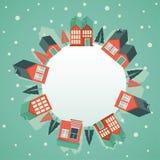 Cartão do Natal do vetor Fotografia de Stock