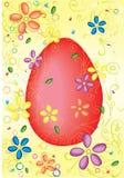 Cartão do ovo de Easte Fotos de Stock Royalty Free