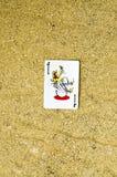 Cartão do palhaço Fotos de Stock Royalty Free