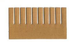 Cartão do pente Imagens de Stock