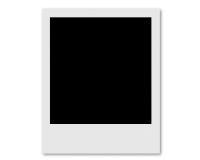 Cartão do Polaroid Fotos de Stock Royalty Free