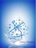Cartão do presente Imagens de Stock Royalty Free