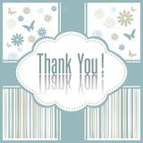 Cartão do presente isolado no branco Fotografia de Stock Royalty Free