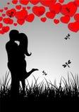 Cartão do `s do Valentim Foto de Stock Royalty Free