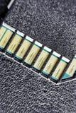 Cartão do SD do contraste alto imagens de stock