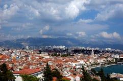 Cartão do Split, Croatia Imagens de Stock Royalty Free
