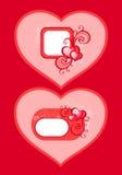 Cartão do Valentim ilustração stock
