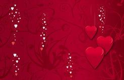 Cartão do Valentim Fotografia de Stock Royalty Free