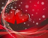 Cartão do Valentim Imagem de Stock