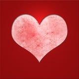Cartão do Valentim Foto de Stock Royalty Free