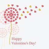 Cartão do Valentim Fotos de Stock Royalty Free