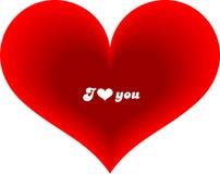 Cartão do Valentim Foto de Stock