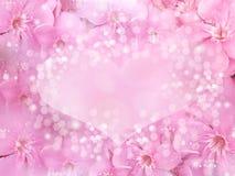 Cartão do Valentim ou de casamento conceito do amor para a celebração Fotografia de Stock Royalty Free