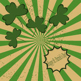 Cartão do vetor do dia do ` s de St Patrick ilustração do vetor