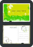 Cartão do vetor do vintage Fotografia de Stock