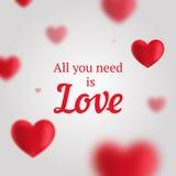 Cartão do vetor para amantes Imagem de Stock Royalty Free