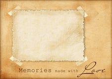 Cartão do vintage ilustração do vetor
