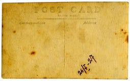 Cartão do vintage. Foto de Stock