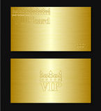 Cartão do Vip Fotos de Stock Royalty Free