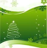 Cartão do Xmas Imagem de Stock Royalty Free