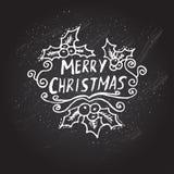 Cartão dos feriados de inverno Fotografia de Stock