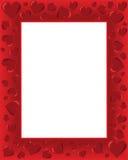 Cartão dos Valentim ilustração royalty free