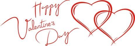 Cartão dos Valentim Foto de Stock Royalty Free