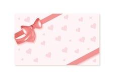 Cartão dos Valentim Fotografia de Stock