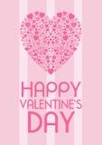 Cartão dos Valentim Fotos de Stock Royalty Free