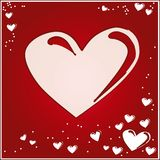 Cartão dos Valentim Imagem de Stock Royalty Free