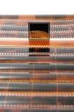 Cartão e película Fotografia de Stock