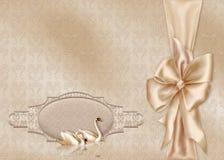 Cartão elegante Fotografia de Stock
