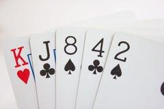 Cartão elevado Imagem de Stock Royalty Free