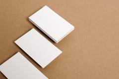 Cartão em branco Imagem de Stock