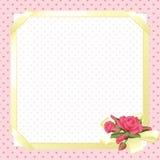 Cartão encantador Imagens de Stock