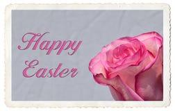 Cartão feliz da Páscoa Foto de Stock Royalty Free