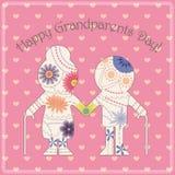 Cartão feliz do dia da avó Imagem de Stock
