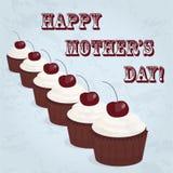 Cartão feliz do dia da mãe Fotografia de Stock Royalty Free