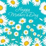 Cartão feliz do dia do ` s da mãe Fotografia de Stock Royalty Free
