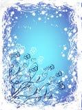 Cartão floral Imagem de Stock