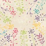 Cartão floral ilustração royalty free
